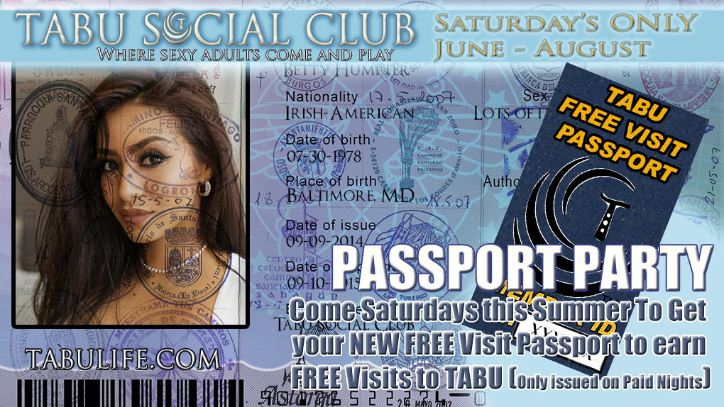 Passport Party Saturdays