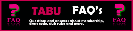 Faq s about Tabu