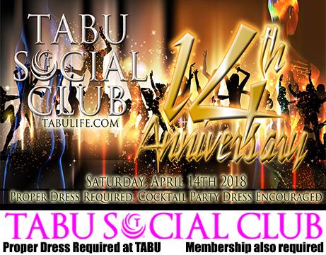 Tabu Anniversary, 14 on the 14th
