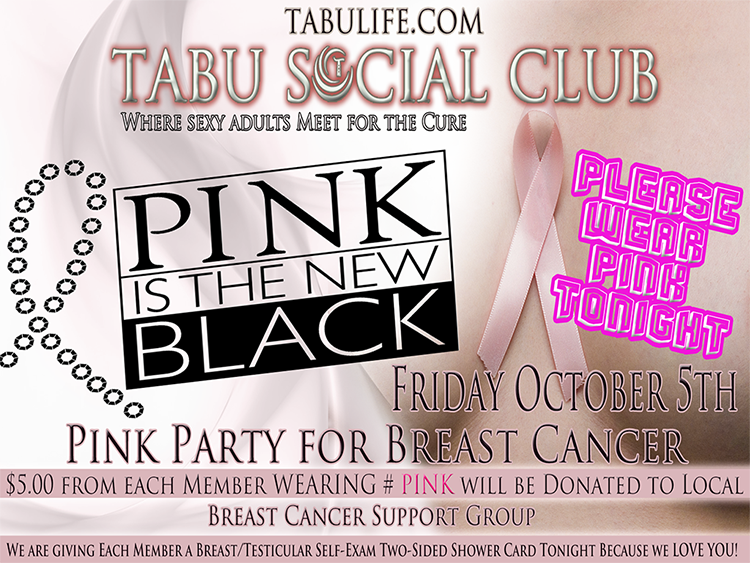 Pink is the New BLACK for a Cause!